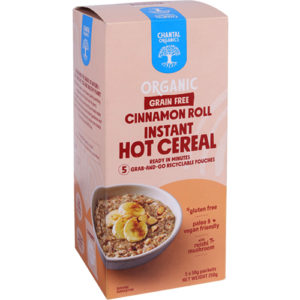 Chantal Grain Free Cinnamon Roll Instant Hot Cereal 250G