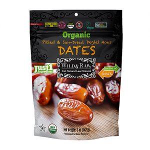 Wild & Raw Organic Pitted Dates 142G
