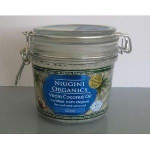 Nuigini Coconut Oil Org Virgin 320ML