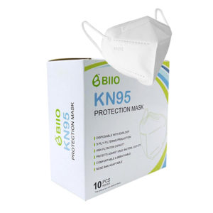 BIIO Face Masks KN95 10 Pack