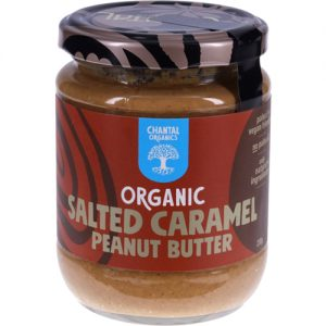 Chantal Organics Salted Caramel Peanut Butter 230G