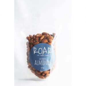 ACTIVATED RAW ALMONDS 250G