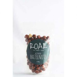 Roar Activated Raw Hazelnuts 125G