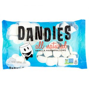 Dandies Classic Air Puffed Vegan Marshmallows Vanilla 283G