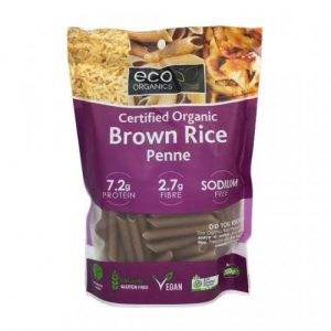 Eco Organics Brown Rice Penne Pasta 200G