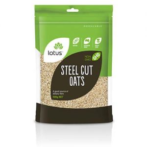 Lotus Steel Cut Oats 500G