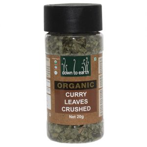 Down To Earth Organics Crushed Curry Leaves 20G