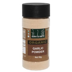 Down To Earth Organics Garlic Powder 50G