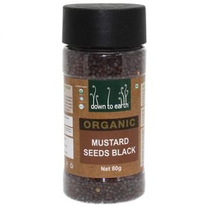 Down To Earth Mustard Seeds Black 80G