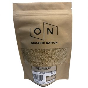 Organic Nation Hulled Millet 200G
