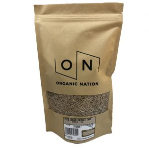 Organic Nation Brown Rice Medium Grain 500G