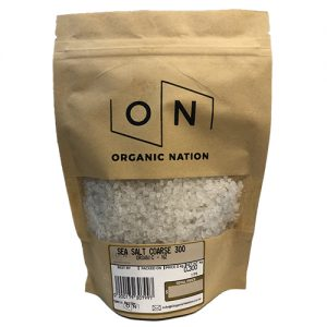 Organic Nation Sea Salt Coarse 300G