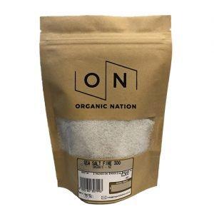 Organic Nation Sea Salt Fine 300G