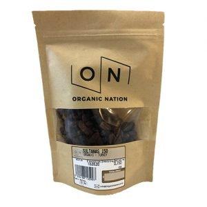 Organic Nation Sultanas 150G