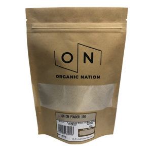 Organic Nation Onion Powder 150G