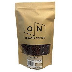 Organic Nation Adzuki Beans 500G