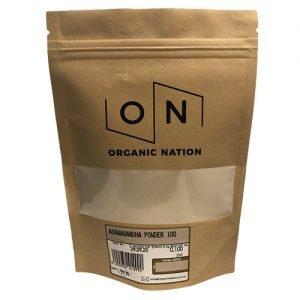 Organic Nation Ashwagandha Powder 100G