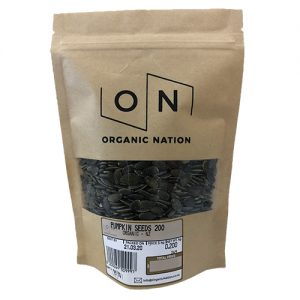 Organic Nation Pumpkin Seeds 200G