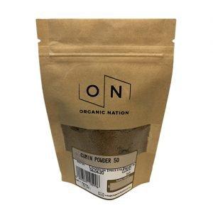 Organic Nation Cumin Powder 50G