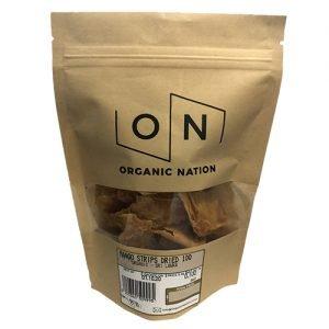 Organic Nation Dired Mango Strips 100G