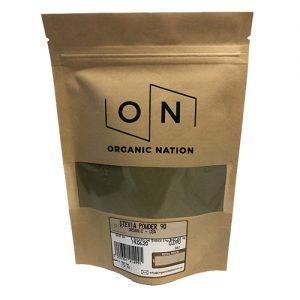 Organic Nation Stevia Powder 90G