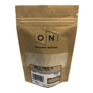 Organic Nation Garlic Powder 50G