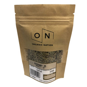 Organic Nation Dried Rosemary 25G