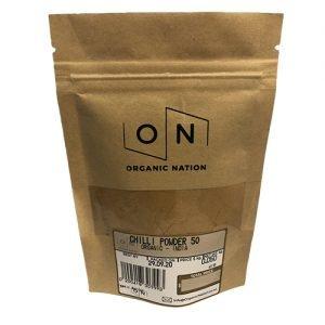 Organic Nation Chilli Powder 50G