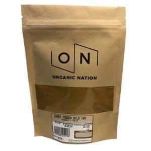 Organic Nation Curry Powder Mild 100G