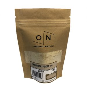 Organic Nation Fenugreek Powder 50G