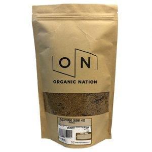 Organic Nation Muscovado Sugar 400G