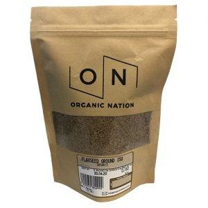 Organic Nation Ground Flaxseed 150G