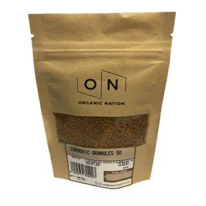 Organic Nation Turmeric Granules 50G