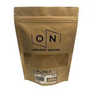 Organic Nation Chilli Powder 100G