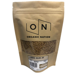Organic Nation Golden Linseed 200G