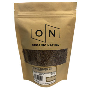 Organic Nation Linseed/Flaxseed 200G