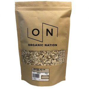 Organic Nation Wheat Free Oats 500G