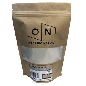 Organic Nation Garlic Powder 150G