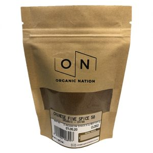 Organic Nation Chinese Five Spice 50G