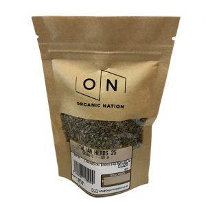 Organic Nation Mixed Italian Herbs 25G