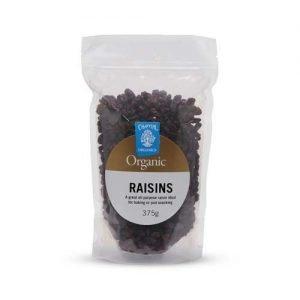 Chantal Organics Raisins Seedless 375G